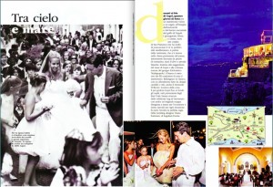 Wedding in Capri by Sugokuii Events in Italian Vogue